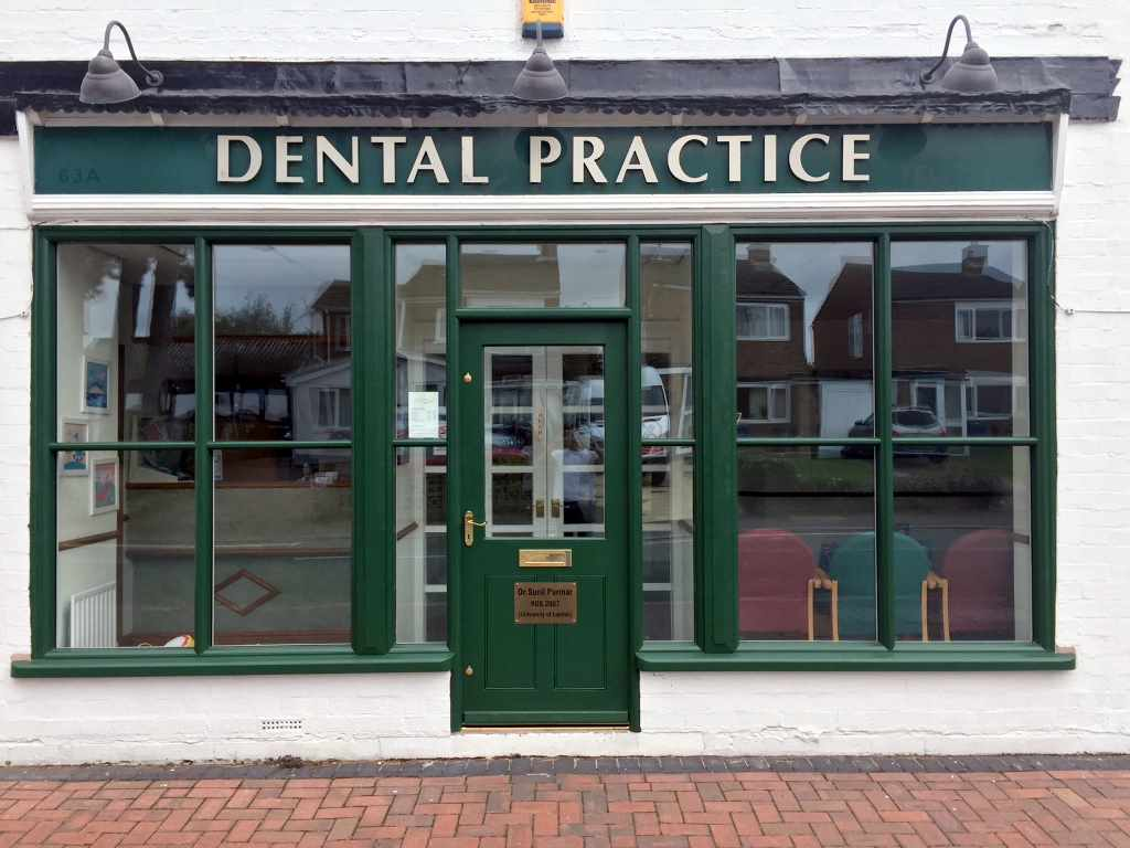 External view of our Dental Practice in Alrewas near Burton on Trent close to Fradley, Barton under Needwood and Fradley
