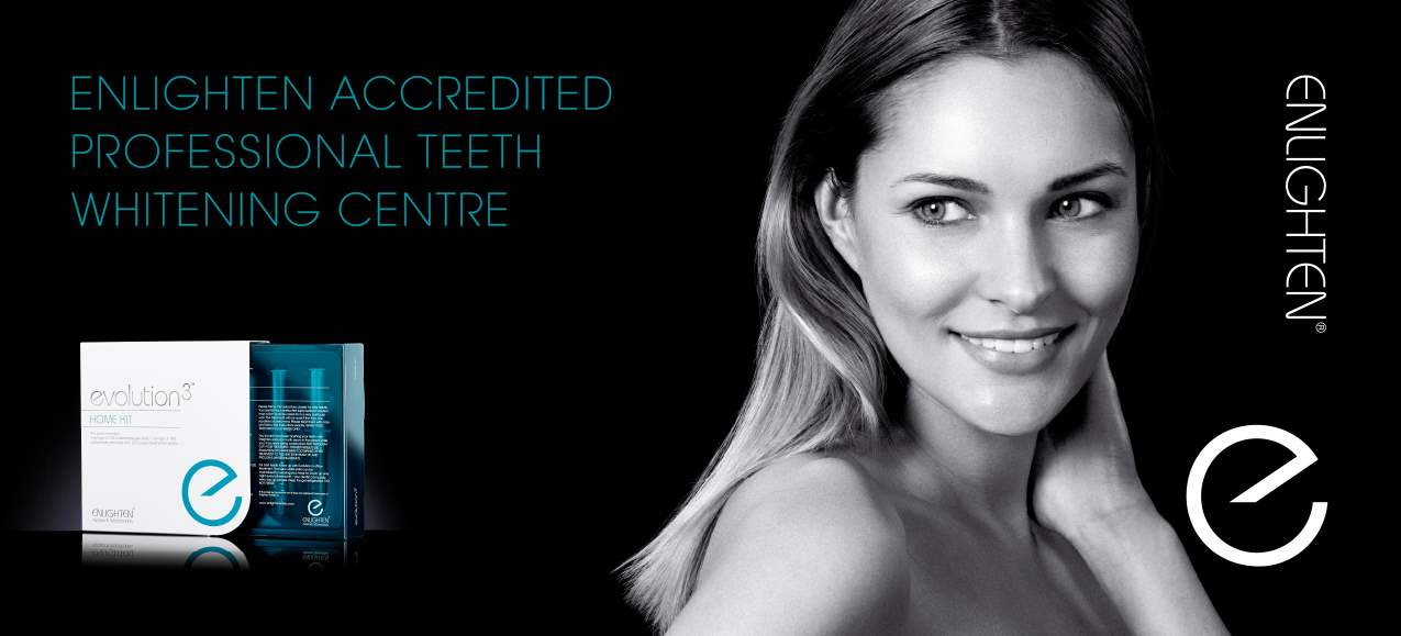 Poster for Enlighten Accredited Teeth whitening Service in Burton on Trent