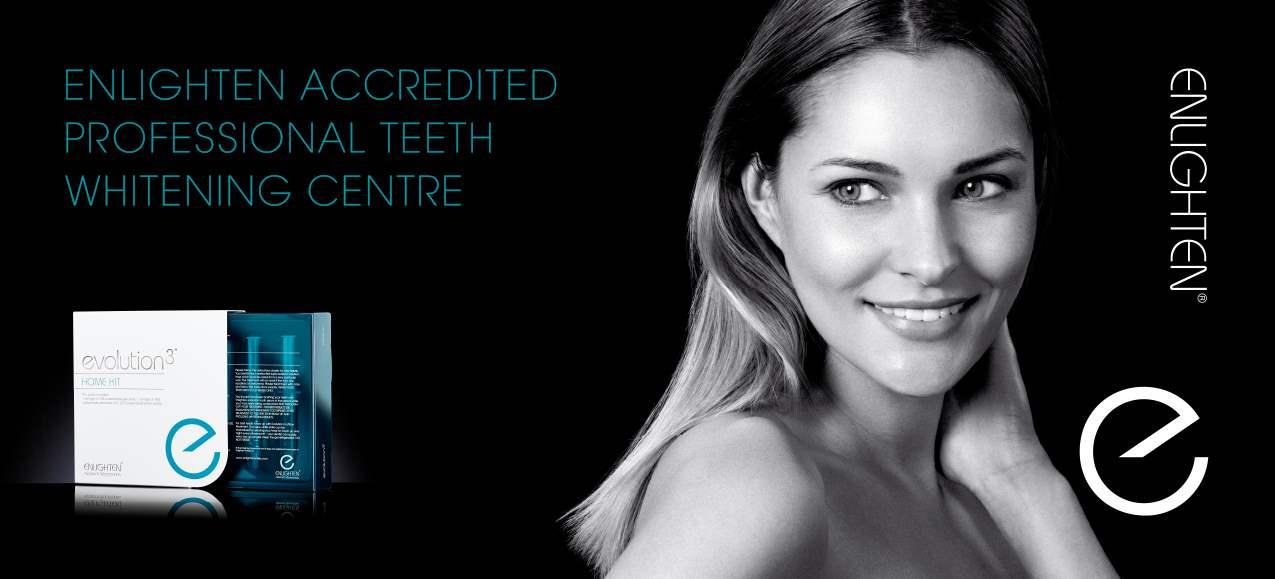 Poster for Enlighten Accredited Teeth whitening Service in Burton on Trent